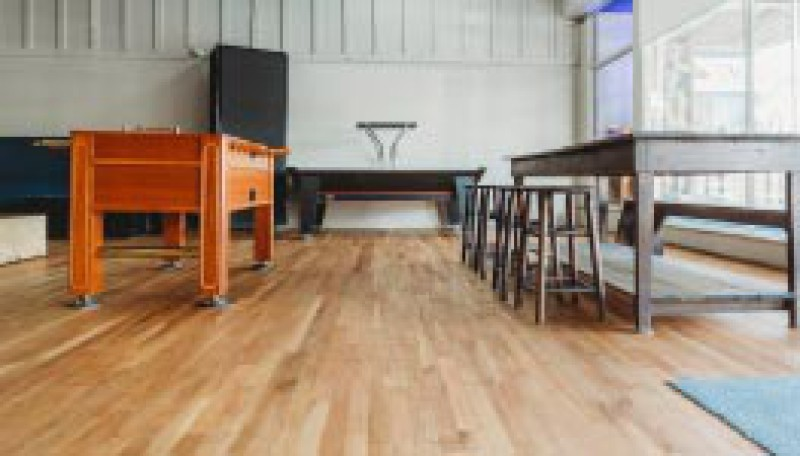 The Upper Room Coffee | Faith Hardwood Flooring